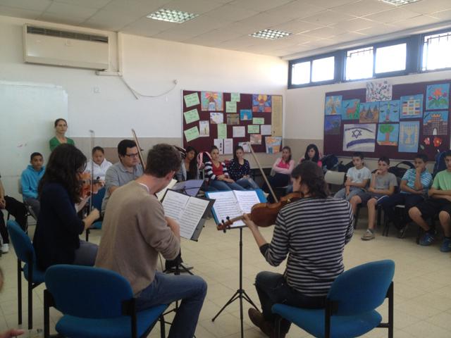 פעילות במרכז למוסיקה בשדרות